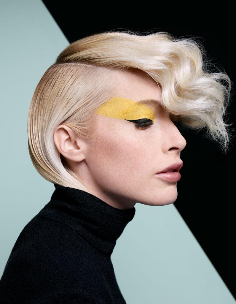 la coupe courte asym trique de dessange coiffures de saison nos id es pour s 39 inspirer elle. Black Bedroom Furniture Sets. Home Design Ideas