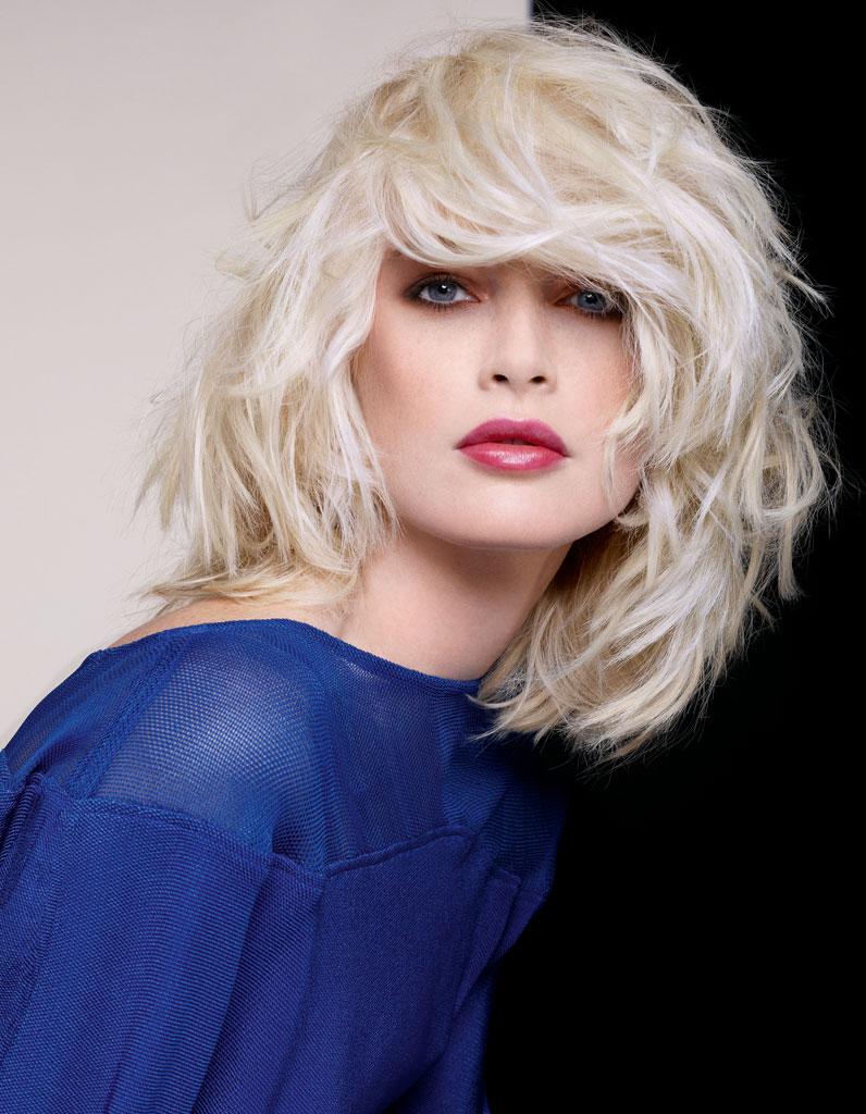 le blond platine de dessange coiffures de saison nos id es pour s 39 inspirer elle. Black Bedroom Furniture Sets. Home Design Ideas
