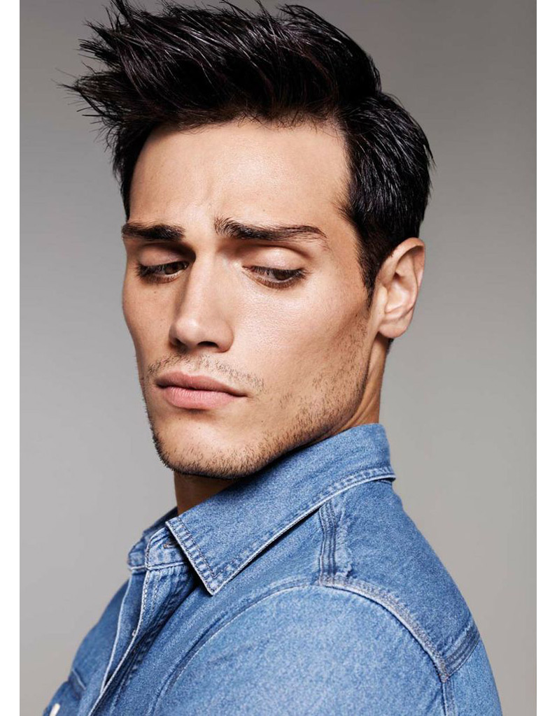 Coupe italienne cheveux long homme