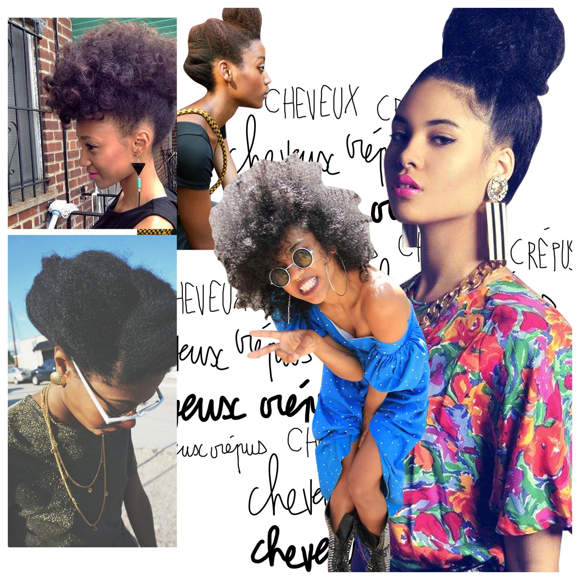 Cheveux crépus : 20 idées de coiffures pour cheveux crépus - Elle