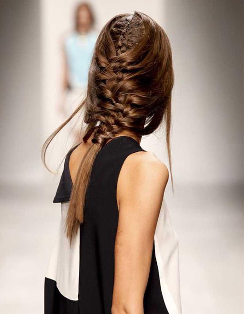 Coiffure cheveux fins attaches