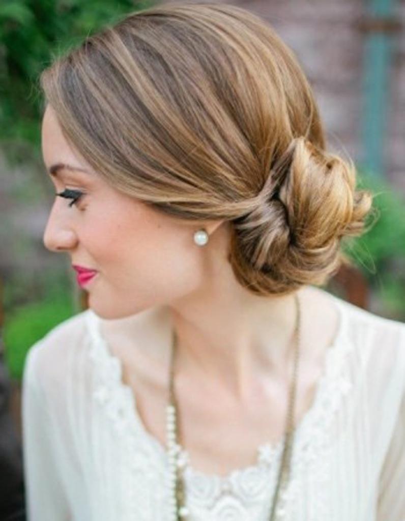 Fabuleux Chignon de mariée glamour - Je veux un joli chignon de mariée ! - Elle EA69