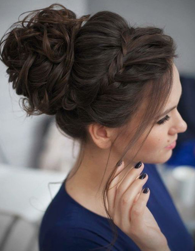 coiffure demoiselle d 39 honneur fille 15 coiffures de. Black Bedroom Furniture Sets. Home Design Ideas