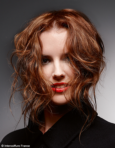 beaute tendance cheveux coiffure intercoiffure france 015 100 coiffures automne hiver 2011. Black Bedroom Furniture Sets. Home Design Ideas