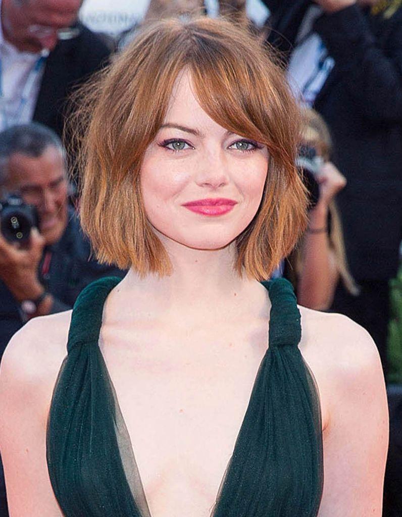 Le carré flou d'Emma Stone - Le carré flou, nouvelle coupe préférée des stars - Elle