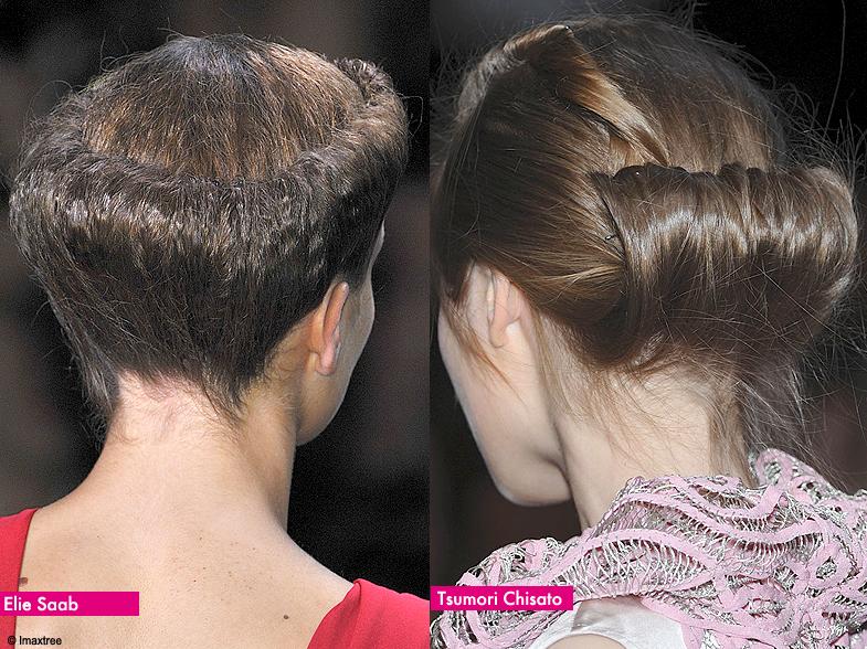 cheveux roul s les coiffures printemps t 2010 de paris elle. Black Bedroom Furniture Sets. Home Design Ideas