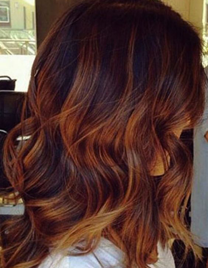 Couleur cheveux chocolat caramel fashion designs - Coloration chocolat caramel ...