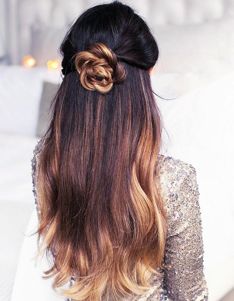 Photo couleur cheveux long