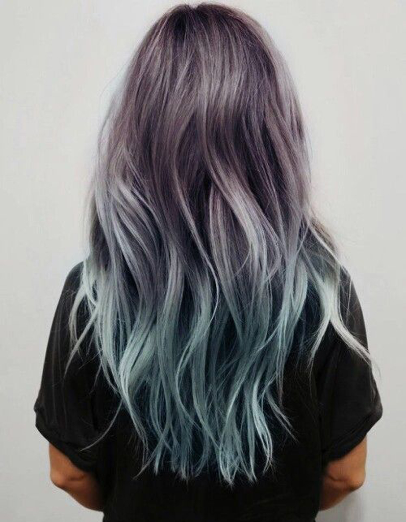 ombr hair pastel ombr hair les plus beaux d grad s de couleur elle. Black Bedroom Furniture Sets. Home Design Ideas