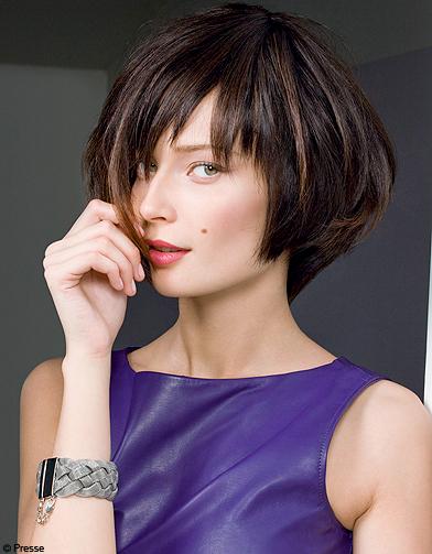 Beaute tendance cheveux coiffure dessange carre degrade - Coupe courte carre degrade ...