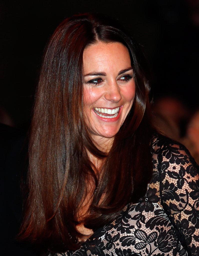 Top Kate Middleton et son brun cuivré - Coiffures de stars : les 20  EB78