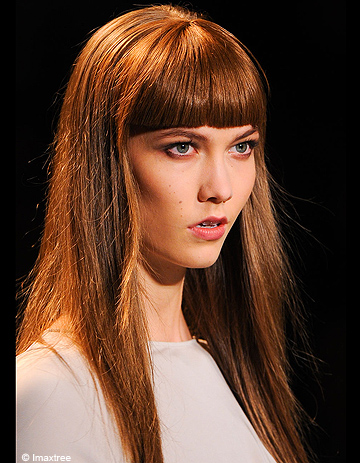 Elie Saab - Fashion Week De Paris Hiver 2012-2013  Les Coiffures - Elle