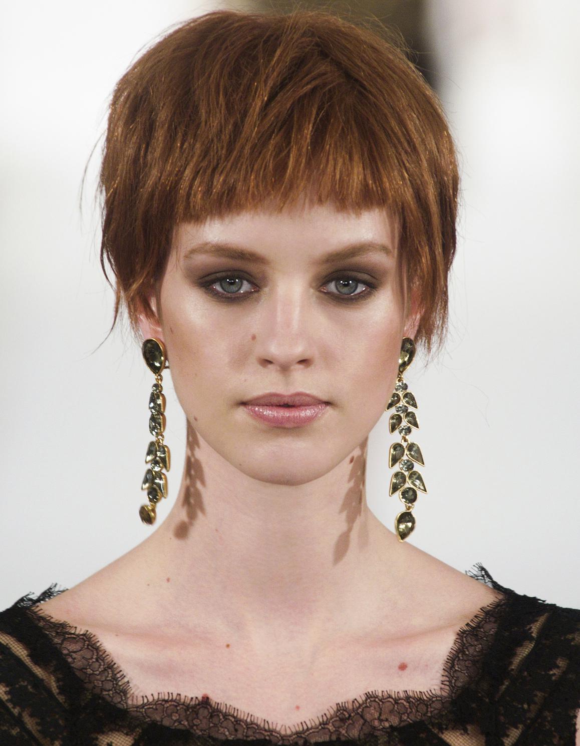 Préférence Frange courte cheveux courts - 20 façons de porter la frange  SF42
