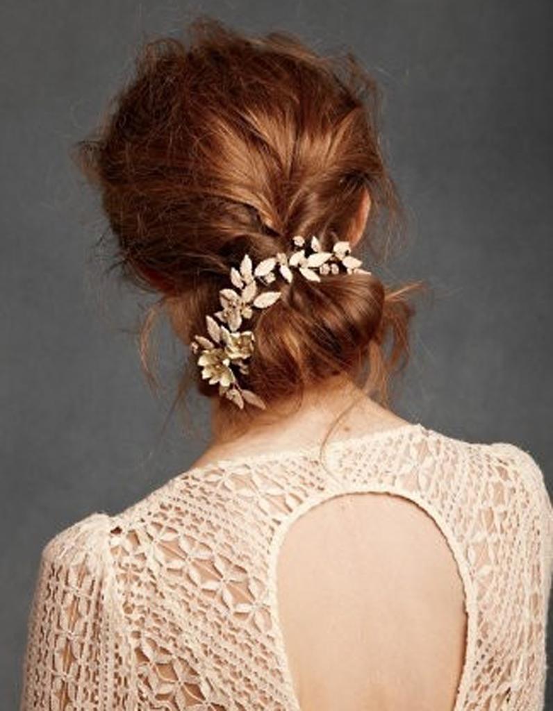 coiffure de mari e chignon flou les plus jolies coiffures de mari e pour s inspirer elle. Black Bedroom Furniture Sets. Home Design Ideas