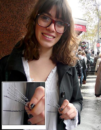 4 pinces chignon street style un must have beaut dans son sac main elle. Black Bedroom Furniture Sets. Home Design Ideas