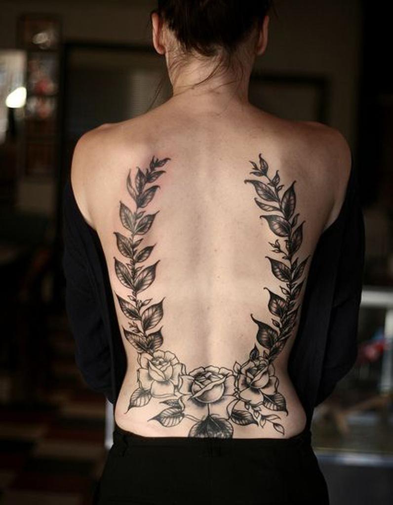 id e tatouage du laurier dans le dos les 40 plus beaux