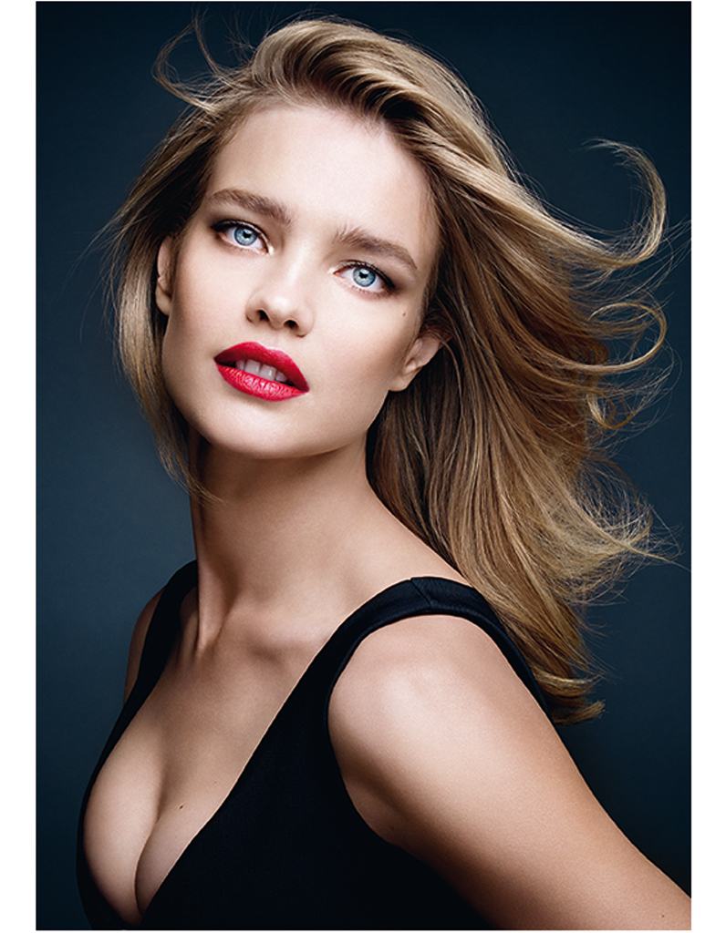 natalia vodianova pour guerlain les plus belles. Black Bedroom Furniture Sets. Home Design Ideas
