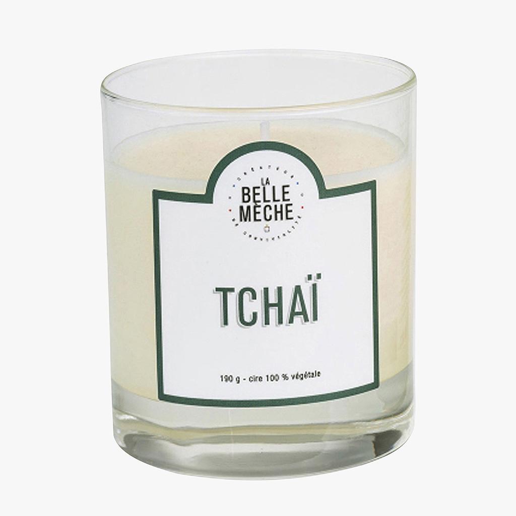 bougie parfum e tcha de la belle m che envie de douceur nos bougies parfum es pr f r es elle. Black Bedroom Furniture Sets. Home Design Ideas