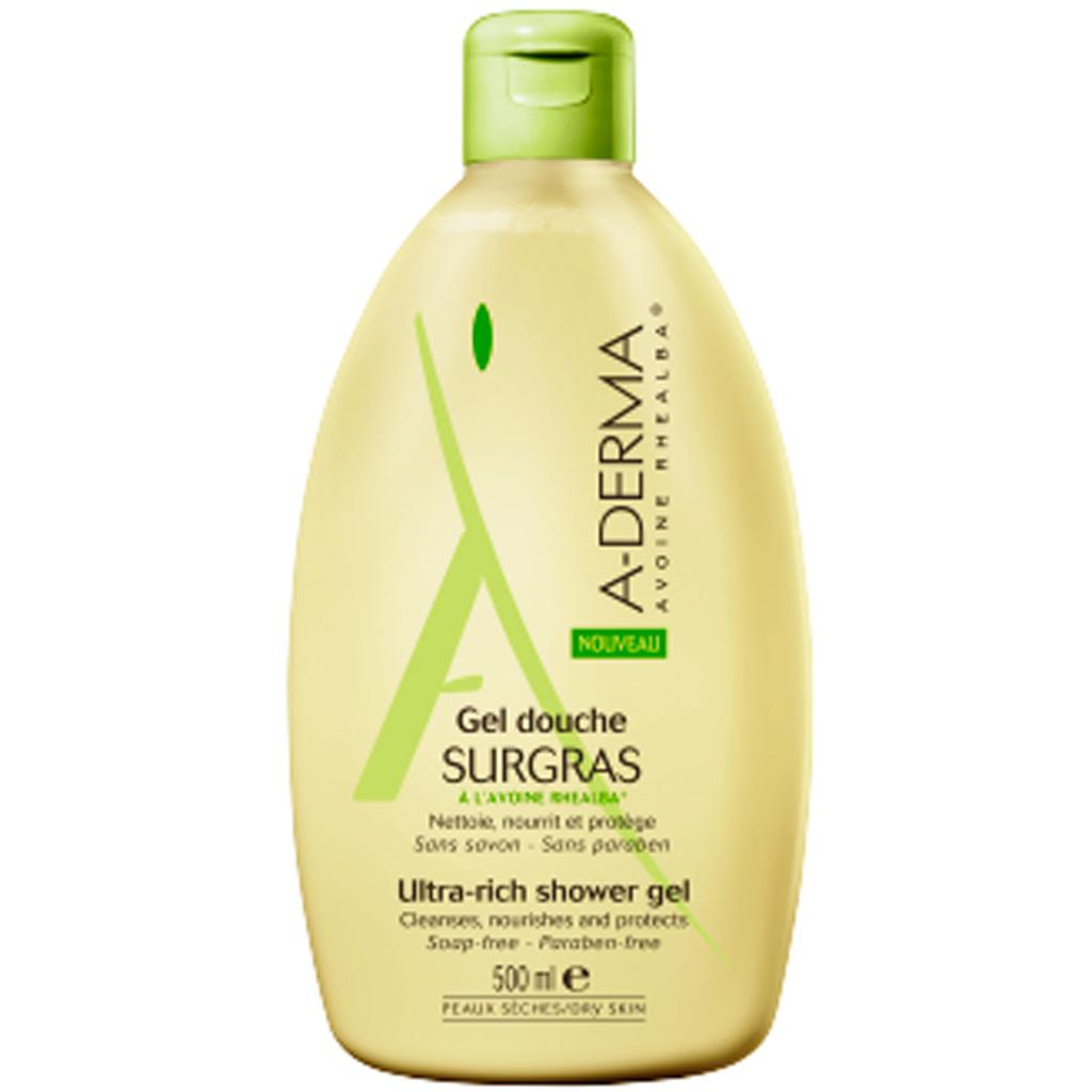Gel douche surgras a derma 15 nouveaux nettoyants pour un teint clatant elle - Gel douche peau atopique ...
