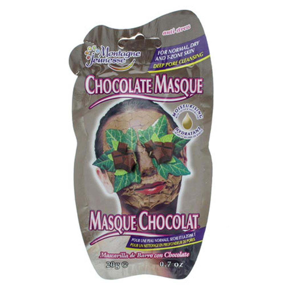 masque hydratant pour le visage au chocolat montagne jeunesse c est moche mais a marche. Black Bedroom Furniture Sets. Home Design Ideas
