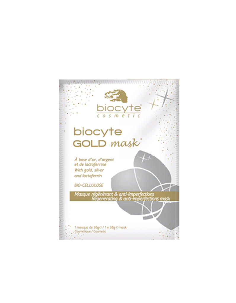 masque r g n rant et anti imperfections biocyte gold mask biocyte 12 le masque les. Black Bedroom Furniture Sets. Home Design Ideas