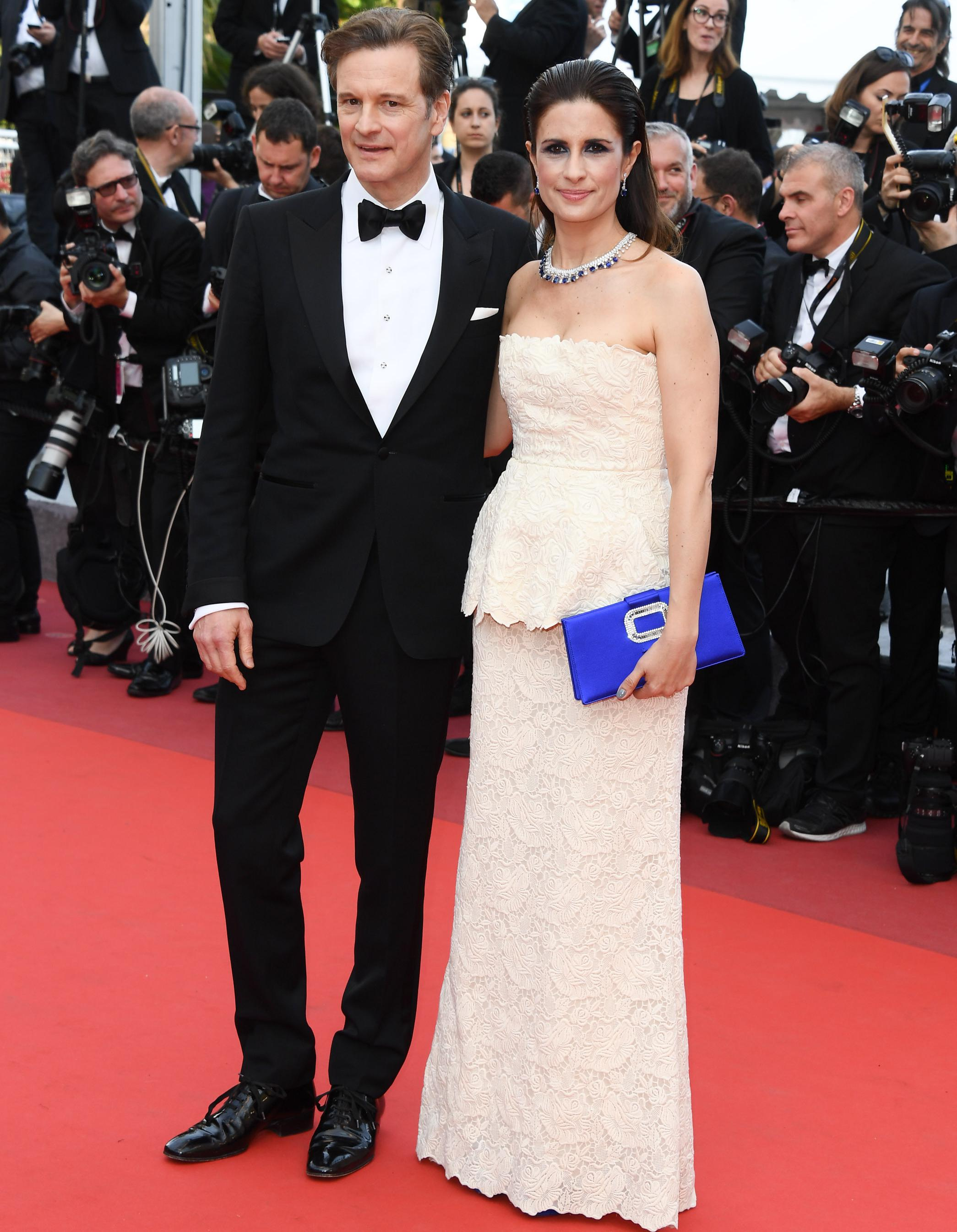 cannes livia firth am ne la mode coresponsable sur le tapis rouge elle. Black Bedroom Furniture Sets. Home Design Ideas