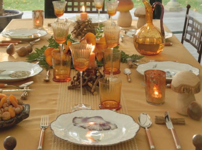 4 d co de table pour no l elle d coration - Decoration de noel de table ...