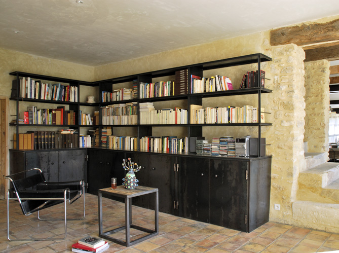 Envie d une biblioth que sur mesure elle d coration - Creation bibliotheque sur mesure ...