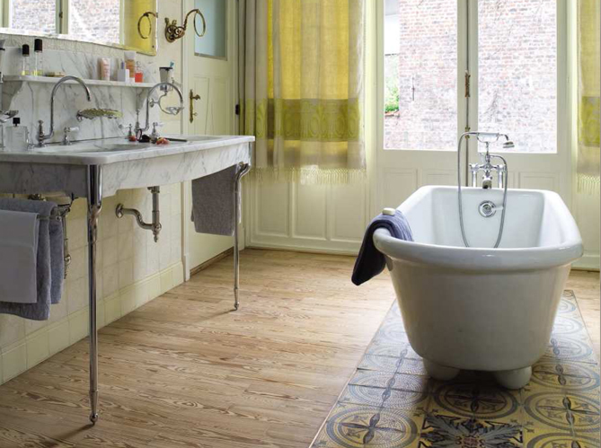 Salle Bain Retro Carrelage Meubles : Le charme du r� tro dans la salle de bains elle d� coration
