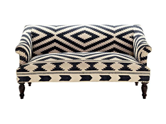 le retour du kilim pour une d co ethnique elle d coration. Black Bedroom Furniture Sets. Home Design Ideas