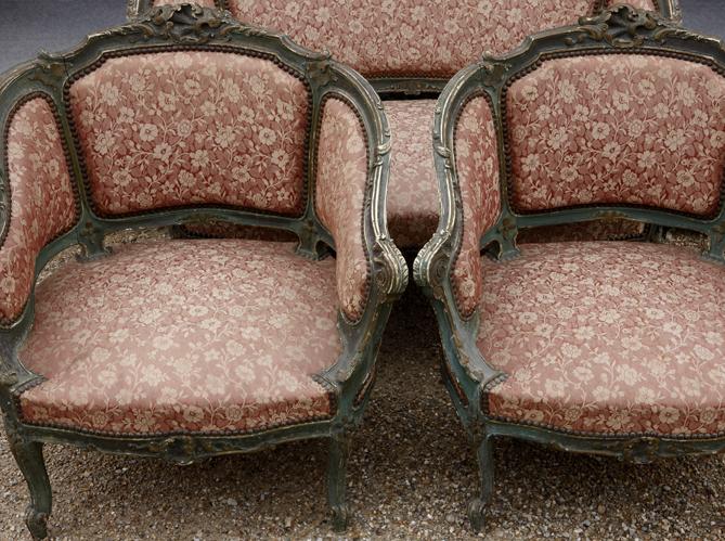 Le salon style Louis XV - Elle Décoration