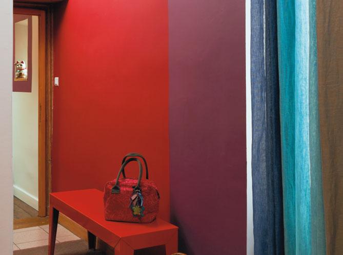 Peinture associez les couleurs et les mati res elle for Peinture chambre gris et rouge