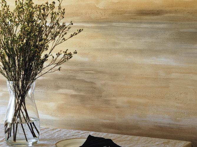 Peinture associez les couleurs et les mati res elle d coration for Peinture murale a effet