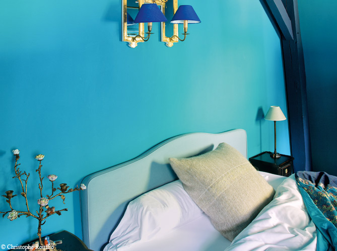 HD wallpapers deco chambre bleu lagon
