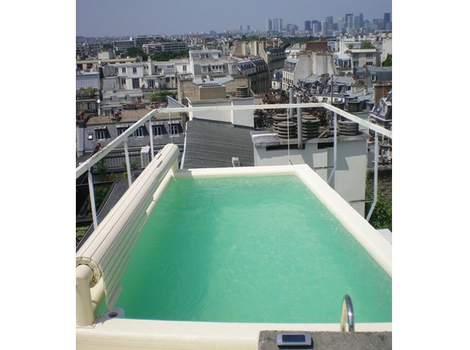 10 petites piscines qui donnent envie elle d coration for Micro piscine