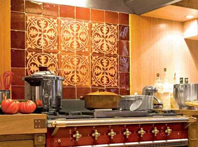 Pianos de cuisson comme des chefs elle d coration for Modele cuisine retro