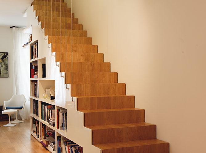 Quel escalier choisir elle d coration - Escalier avec rangement ...
