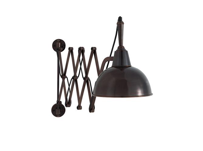 Tendance 20 lampes industrielles elle d coration for Applique accordeon industrielle