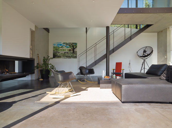 Une Maison En Osmose Avec La Nature Elle D Coration