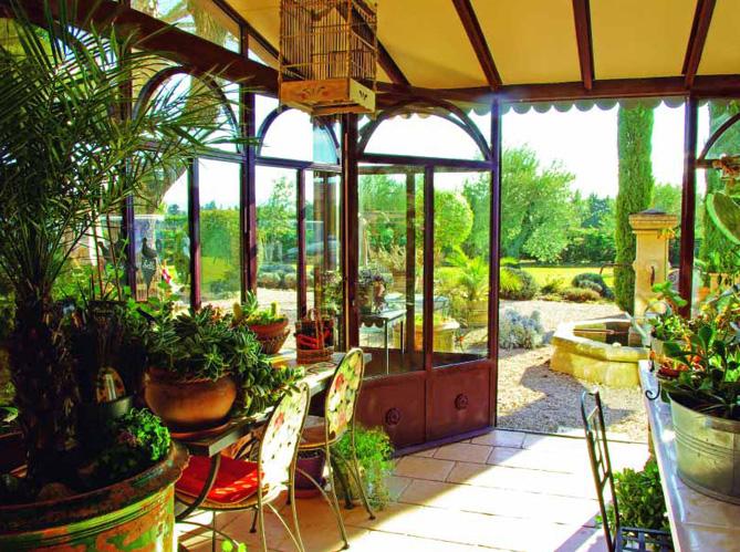 V randa une pi ce en plus elle d coration - Jardin d hiver veranda ...