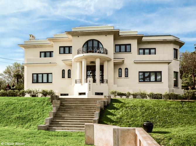 La villa le horra ouvre ses portes art d coration elle d coration - Decoration des villas ...