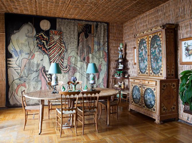 visitez la maison de jean cocteau elle d coration. Black Bedroom Furniture Sets. Home Design Ideas
