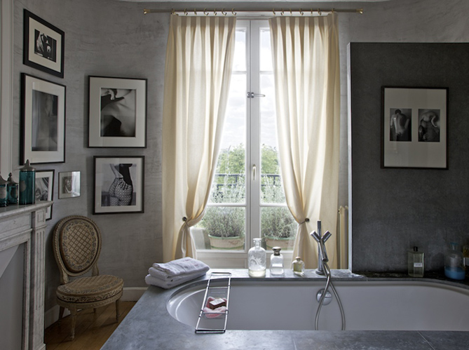 Vos rideaux sur mesure en trois clics elle d coration for Decoration fenetre blanc de meudon