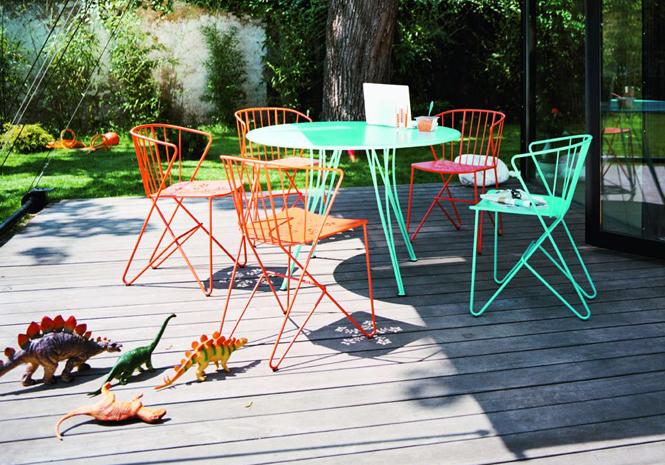 50 meubles de jardin shopper elle d coration - Fermob castorama ...