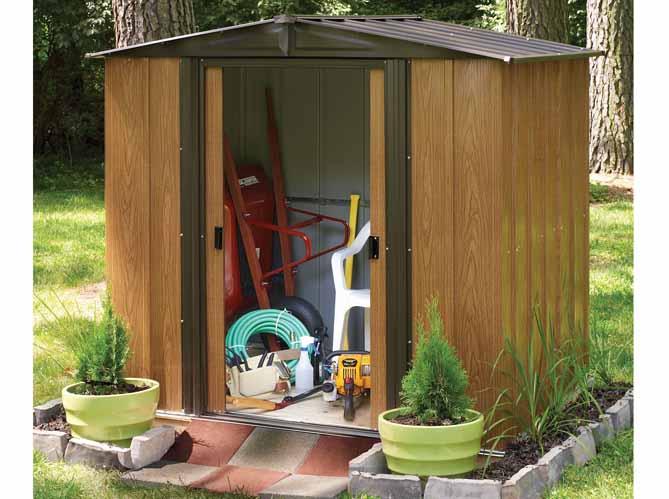 24 abris pour votre jardin abris de jardin elle d coration for Abri outils