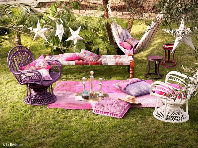 4 styles pour un jardin elle decoration for Decoration pour jardin exterieur 4 decoration salon oriental