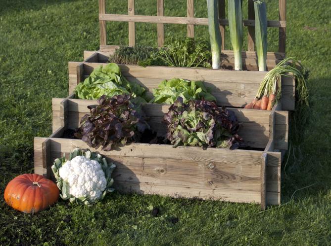 Petits potagers 16 solutions faciles elle d coration - Leroy merlin jardin en carre nantes ...