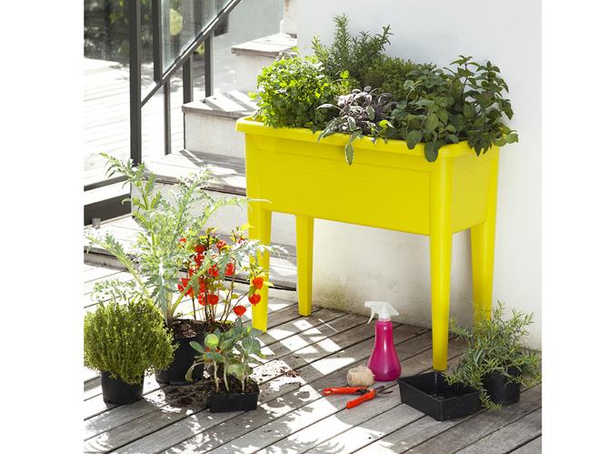 Petits potagers 16 solutions faciles elle d coration - Petit jardin cosmetic solution villeurbanne ...