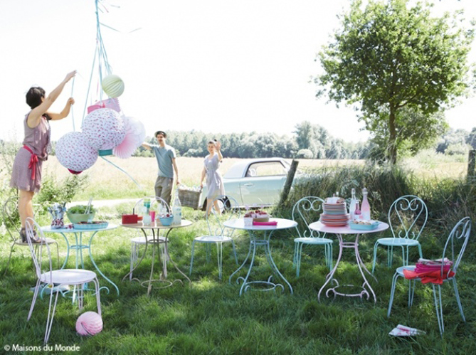 Stunning Decoration Jardin Fetes Contemporary - ansomone.us ...