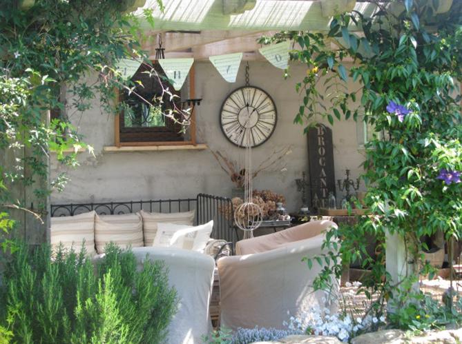 Les plus beaux coins terrasse de nos internautes elle for Objet deco terrasse